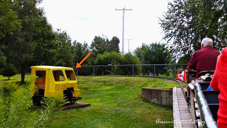 캐나다 철도 궤도 모터카입니다