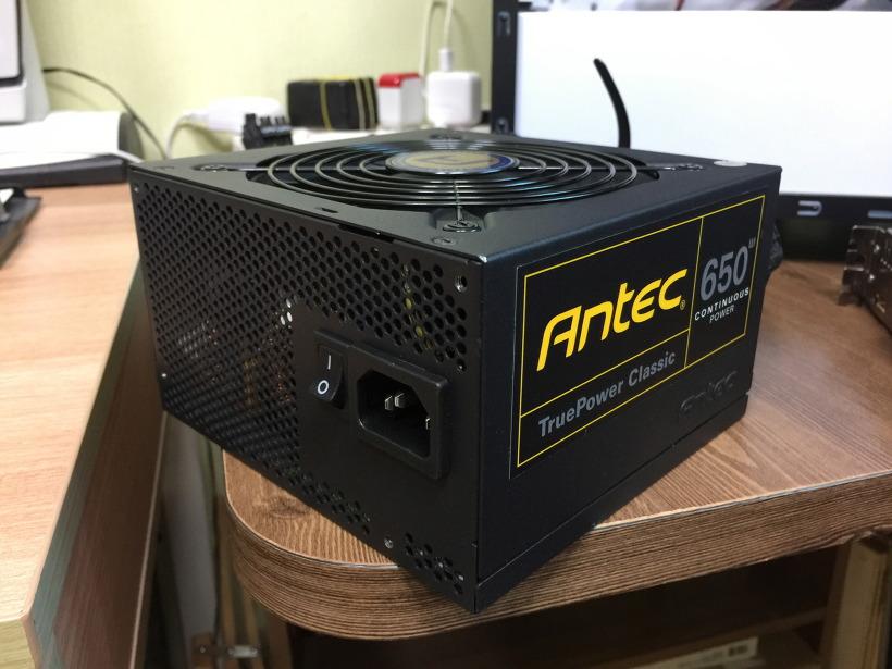 안텍 컴퓨터 파워 Antec TP-650C 80PLUS GOLD