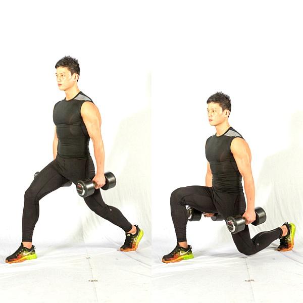 매끈한 다리를 위한 덤벨 하체 운동 3가지