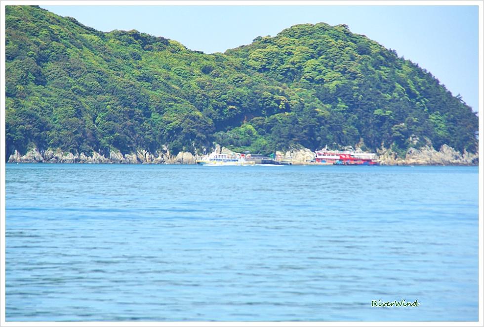 매물도 가는 바다 풍경 장사도