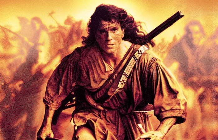 사진: 모히칸족의 최후를 그린 영화의 포스터. 다니엘 데이 루이스가 영화 나이 왼발 이후 완전 변신하여 출연한 영화이다.  [라스트모히칸 줄거리의 배경]